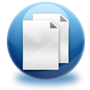 file, copy icon