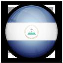 of, nicaragua, flag icon