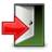 Application, Exit, Gnome icon
