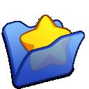 folder, blue, favourite icon