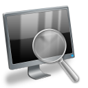 computer, seek, find, search icon