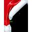 santas hat, hat, santa, cornerhat, christmas icon