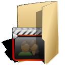 folder, movies icon