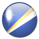island, marshall, country, flag icon