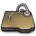 folder, networked icon