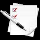 listing, list icon
