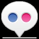 social balloon flickr icon