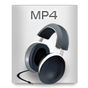 File Types MP 4 icon