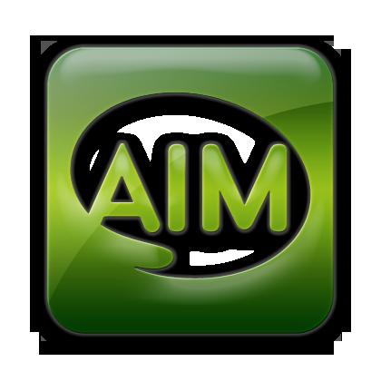 square, logo, aim icon