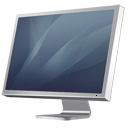 monitor, screen, graphite, display, computer, diagonal, cinema icon