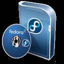 Box, Disc, Fedora icon