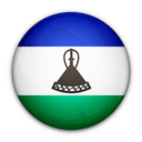 lesotho, of, flag icon