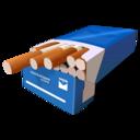 cigarretes,blue icon