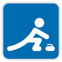 Curling, icon