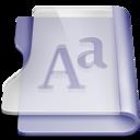 purple,font,book icon