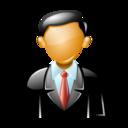 person, executive icon
