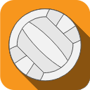 ball, volleyball, sports, play icon