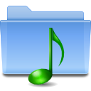 voice, folder, sound icon