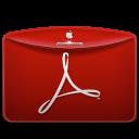 Folder Text PDF Logo icon