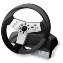 controller, steering wheel, gaming icon