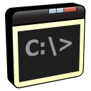 line, command, window icon