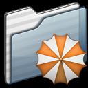 Backup Folder graphite icon