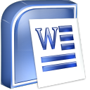 word, ms icon