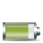 80percent, horizontal, battery icon
