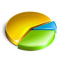 colorful,chart,graph icon