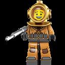 Diver, Lego icon
