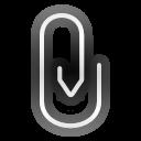 Status mail attachment icon