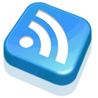 blue, feed, subscribe, rss icon
