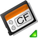mount, flash, compact icon