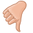 thumb,down,hand icon
