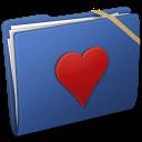 Blue Elastic Favorite icon