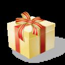 christmas, present icon
