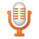 red, microphone, mic icon