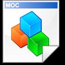 Moc, Source icon