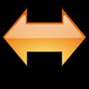 horizontal, flip, object icon