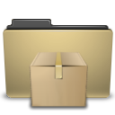 Folder, Manilla, Tar icon