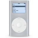 ipod, mini, grey icon