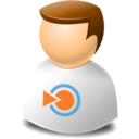 user,web,blinklist icon