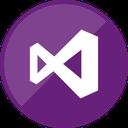 visual, programming, studio, microsoft icon