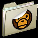 Lightbrown Sticker MILO icon