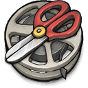 reel, software, film, cutting, derp icon