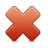 Delete, Multiply, Remove icon