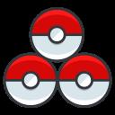 pokeballs, go, play, game, pokemon icon