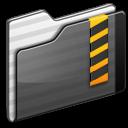 security,folder,black icon