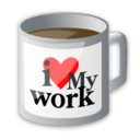 office, cup, drink, food, coffee icon