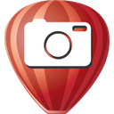 corel, photo, paint icon